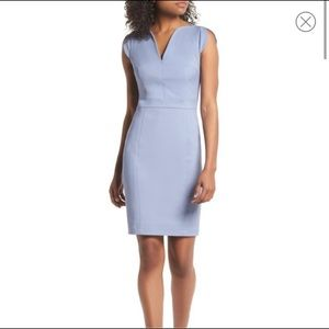 Periwinkle blue French Connection dress